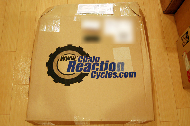 Chain Reaction Cyclesのパッケージ
