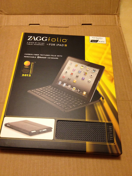 ZAGGfolio for The New iPad(3rd)